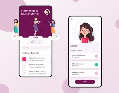 Music Learning App