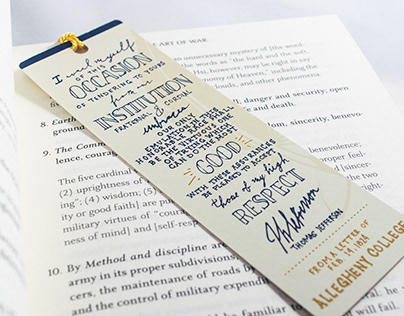 Bentley Hall Bookmark