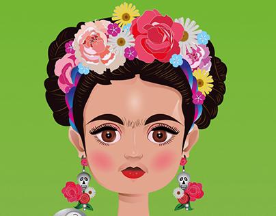 Little Frida Khalo