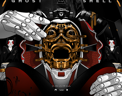 Ghost In The Shell Alternative Posters