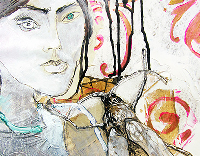 Drawings / mixed media on paper