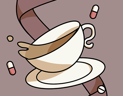 Tea is my only remedy by Celeste Lavoie