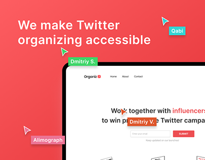 Organiz. A platform for progressive campaigns.