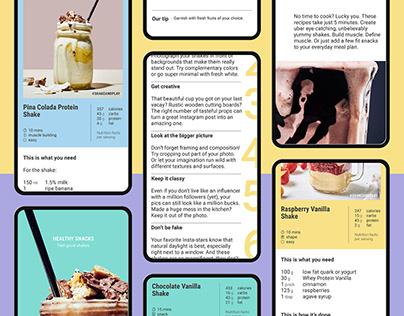 Foodspring e-recipe book
