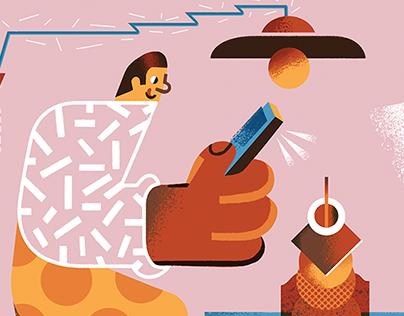 Editorial illustrations 2016/2017
