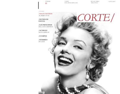 Diseño Editorial | REVISTA CORTE/
