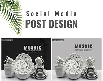 Ceramic Product- Social media Post