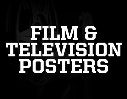 Film and Television Posters Showcase