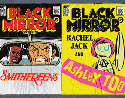 Black Mirror Season 5 + Bandersnatch | The Comic Books