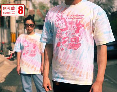 Vaporwave Tie Dye T-shirt