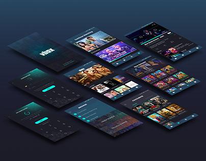 vbox App - UI/UX Design