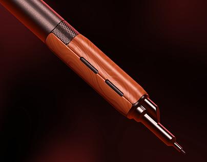 AIM (gen3) - Tactical mechanical pencil (concept)