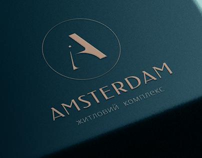 Amsterdam Residential complex   Brand identity