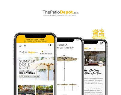 Patio Responsive Website