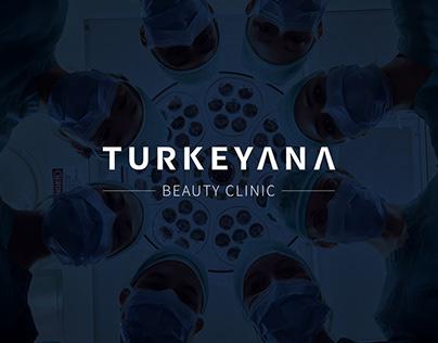 Turkeyana Clinic brand identity design
