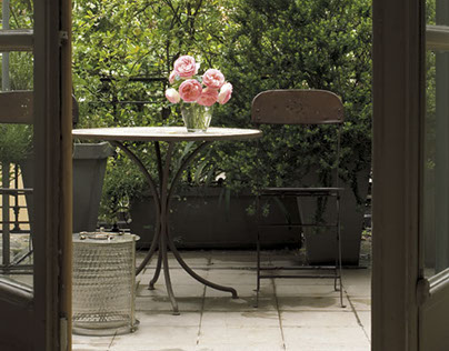 Terrace in Milan - Ph. Andrea Vierucci