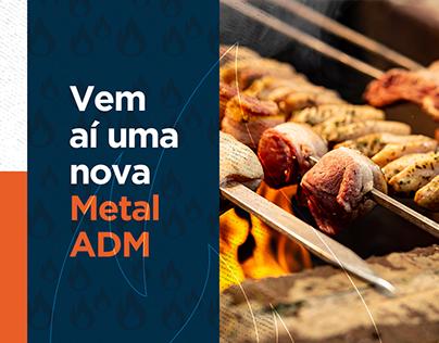 ADM Metais | Campanha Lançamento Rebranding