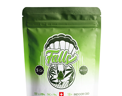 Falls Logotype & Marks for Packaging Label