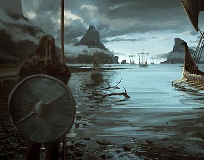 Sigurd Hring - Viking on Behance