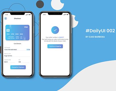 Daily UI — #002
