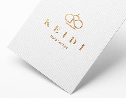 Keidi Nails Lounge - Brand Identity