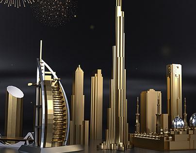 Happy New Year UAE