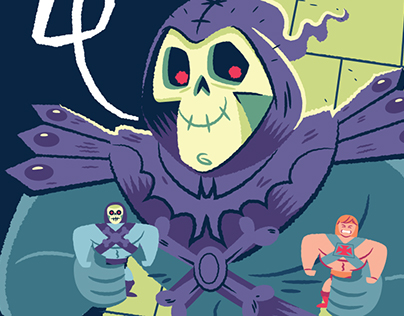 Skeletors secret gallery 1988 on behance