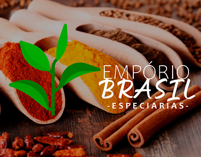 IDENTIDADE VISUAL - EMPÓRIO BRASIL especiarias