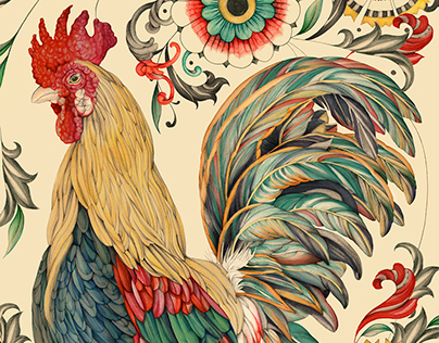 Year of the Rooster. SUAREZ Jewelry.