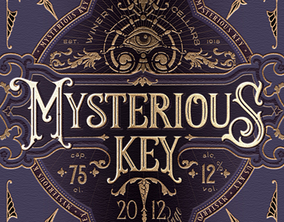 MYSTERIOUS KEY wine / concept
