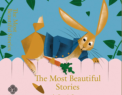 The Most Beautiful Stories by Beatrix Potter (Cover)