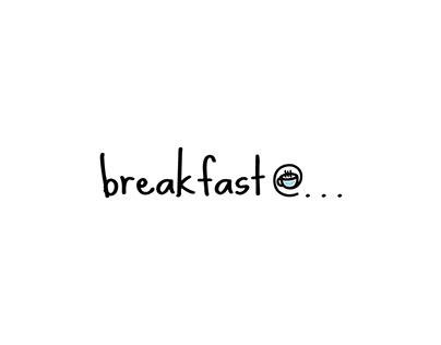 Logo Design for Breakfast @...