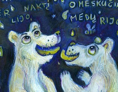 Iliustracijos Kosto Kubilinsko eilėms