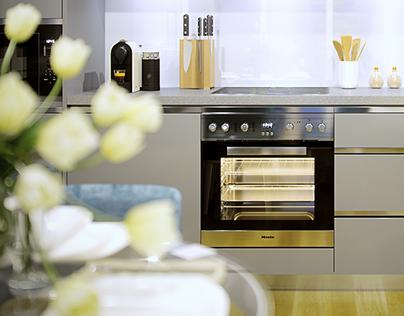 Kitchen and Vignette