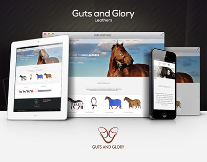 Guts And Glory - Branding & Web
