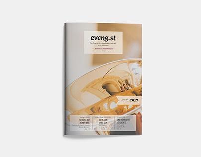 Evang.st – Das Magazin der Evang. Kirche Steiermark