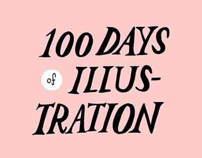 100 days of illustration