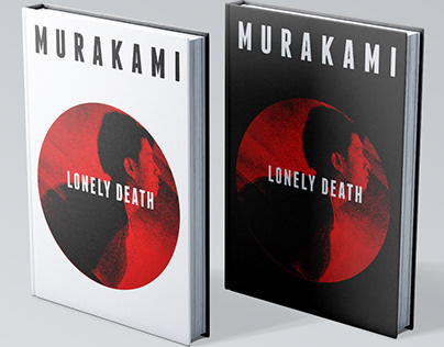 Lonely Death, Murakami Fictional Book Cover