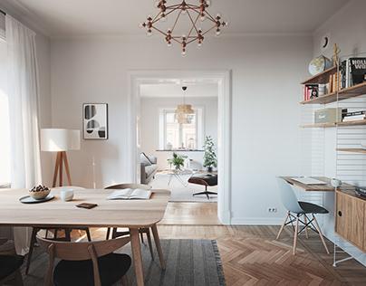Scandinavian Apartment • 001
