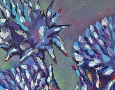 Kunst, Farben, Strich