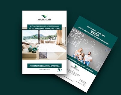 MAGAZINE | Real estate ad brochure