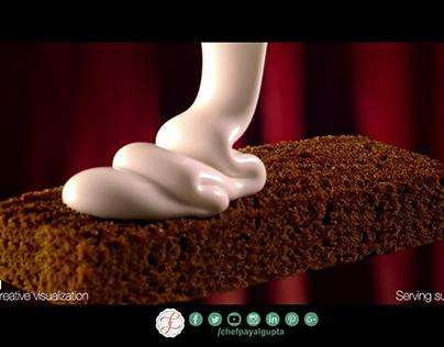 Pillsbury pastry cake ad Foodstylist Payal Gupta