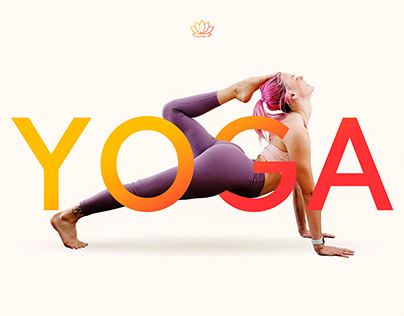 Yoga Centre Landing Page