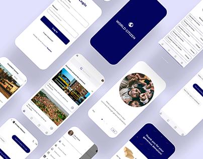 UX Case Study - World Citizen Donation App
