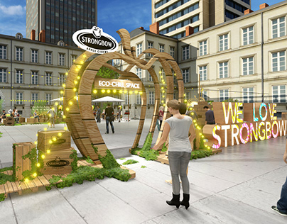 Strongbow - Eco Chill Space