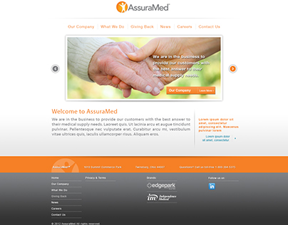 Assuramed Website