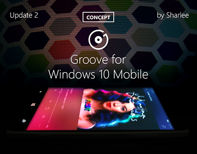 Groove for Windows 10 Mobile