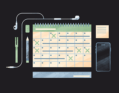 Freelancing Rules and Advice Illustration Series