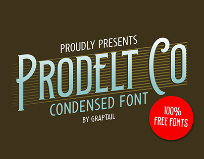 Prodelt Co - 100% Free Fonts