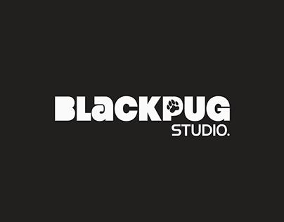 Black Pug Studio - Logo Design (Alt.)